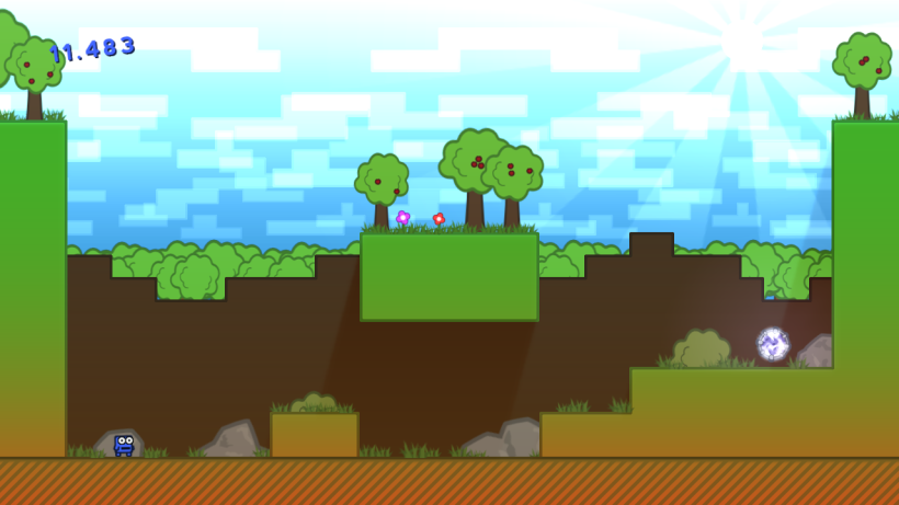 First Level Screenshot